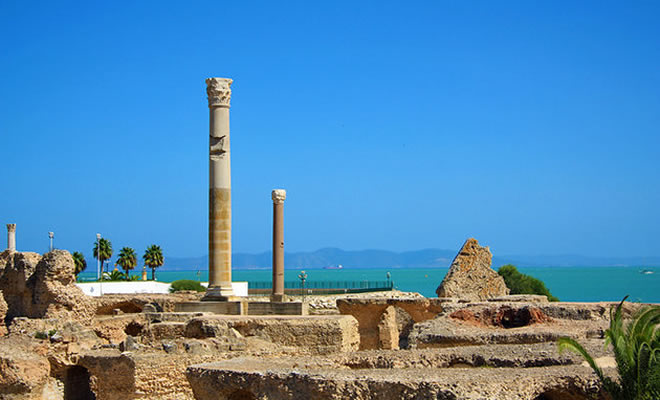 Ruins of Ancient Carthage , Tunis, Tunisia