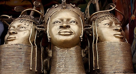 Benin Kingdom is known as the centre of bronze and brass artwork