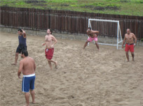 Sport activities @ KAMP Ikare