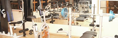 Hotel De Bentley fitness centre