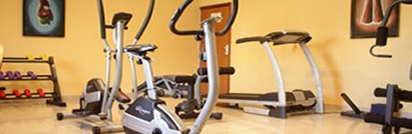La Playa Suites fitness centre