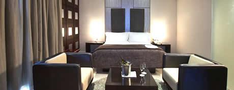Wheatbaker Hotel room