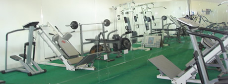 Randekhi Royal Hotel fitness centre