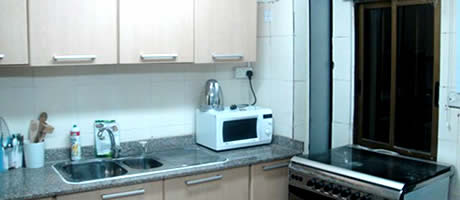 Nashville Furnished Apartment Kitchen