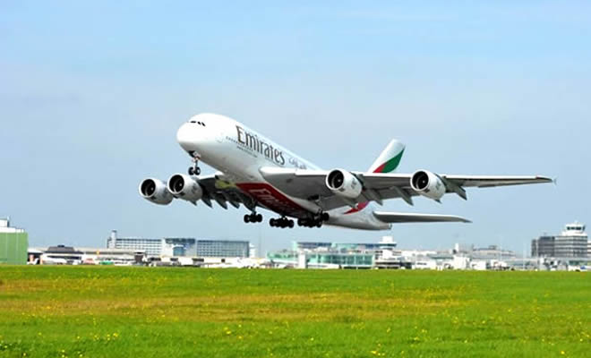 Emirates at Manchester Airport