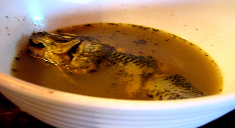 Tilapia fish pepper soup