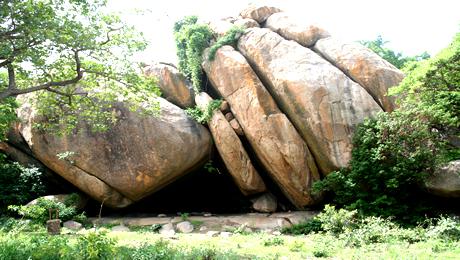 Granite rocks at Old Oyo National Park