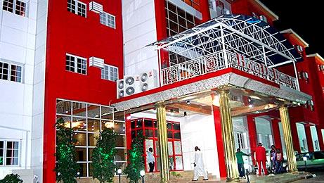 Hotel De Bentley frontview