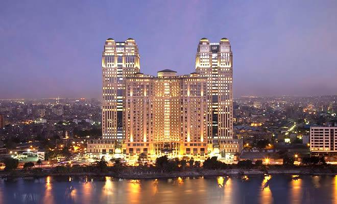 Fairmont Nile City Luxury Hotel, Cairo, Egypt